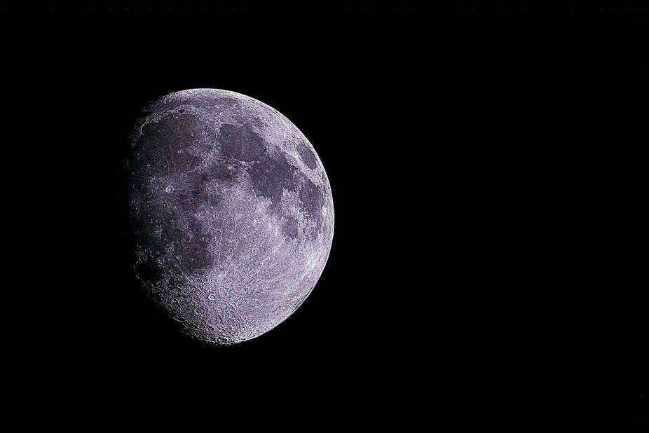 Moon in detail.