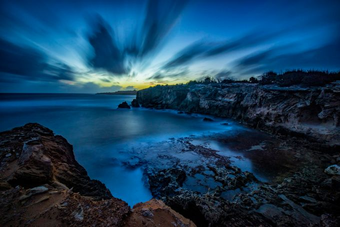 Shipwreck Cove Long Exposure by BensViewfinder - A World Of Blue Photo Contest