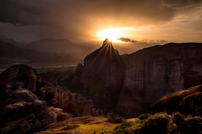 The Eye by DoraArt - Sunrise Or Sunset Photo Contest