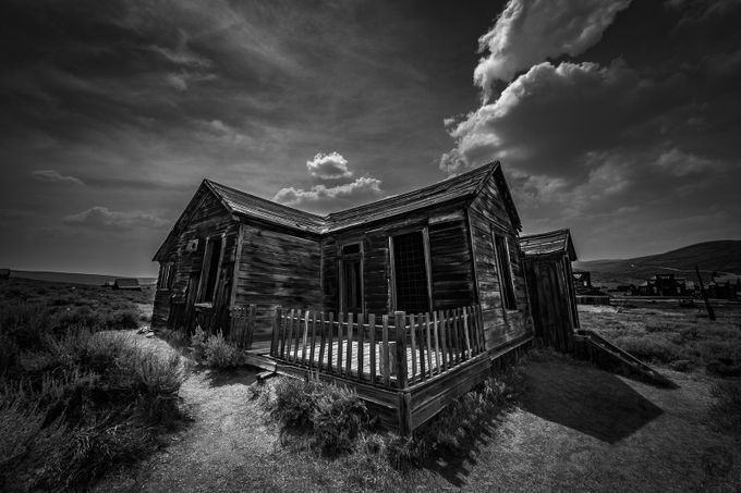 Abandoned by SeanAllenPhoto - Black And White Architecture Photo Contest