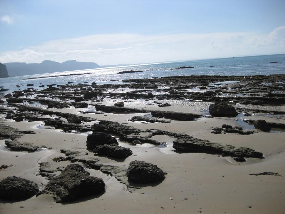 Beach in Hawkes Bay New Zealand