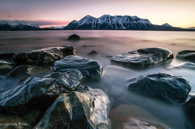 Three Colours of Dusk by ManuKeggenhoff - Sweeping Landscapes Photo Contest