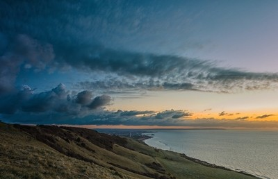 Sunrise over Eastbourne