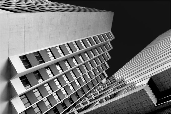 High Rise by Multifacet - Black And White Architecture Photo Contest