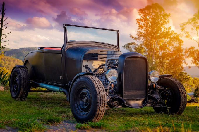 Hot Rod by EeVeePhotography - My Favorite Car Photo Contest