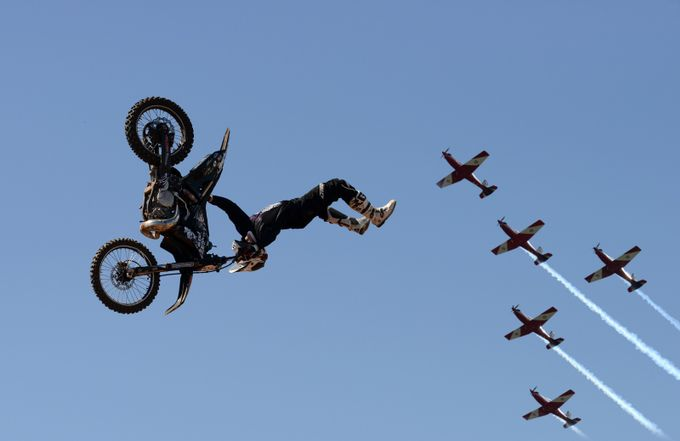 Sky action  by SandroRossiImagery - Motorcycles Photo Contest