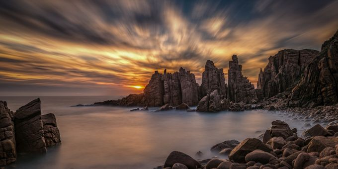 The Pinnacles by Michael_Lucchese - Boulders And Rocks Photo Contest