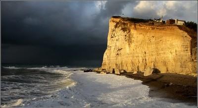 Cliffs in the sun