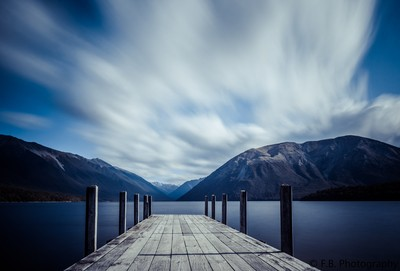 Cloud Streaming Above Lake Rotoiti