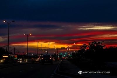 Sunset at Guaratiba