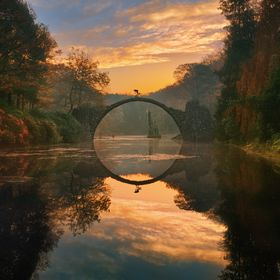 "The photography entitled ""One"" was created quite accidentally. ""Devil's bridge"" was the first place which I visited when..."