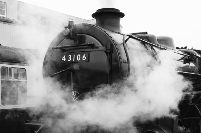steam ahead by Alidowd - A Black And White World Photo Contest