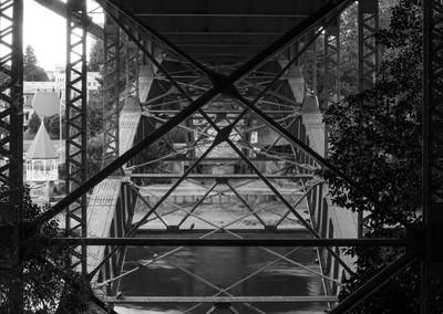 Vic Bridge. Bridge St Hamilton