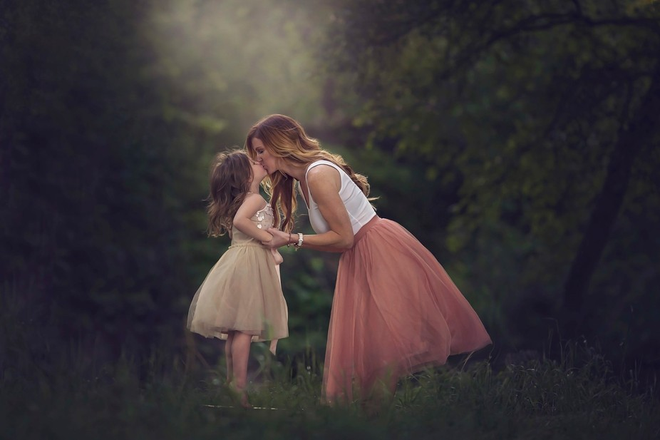 Kisses with Mommy