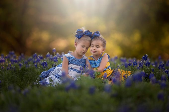 Sisters by CourtneyBlissett - A World Of Blue Photo Contest