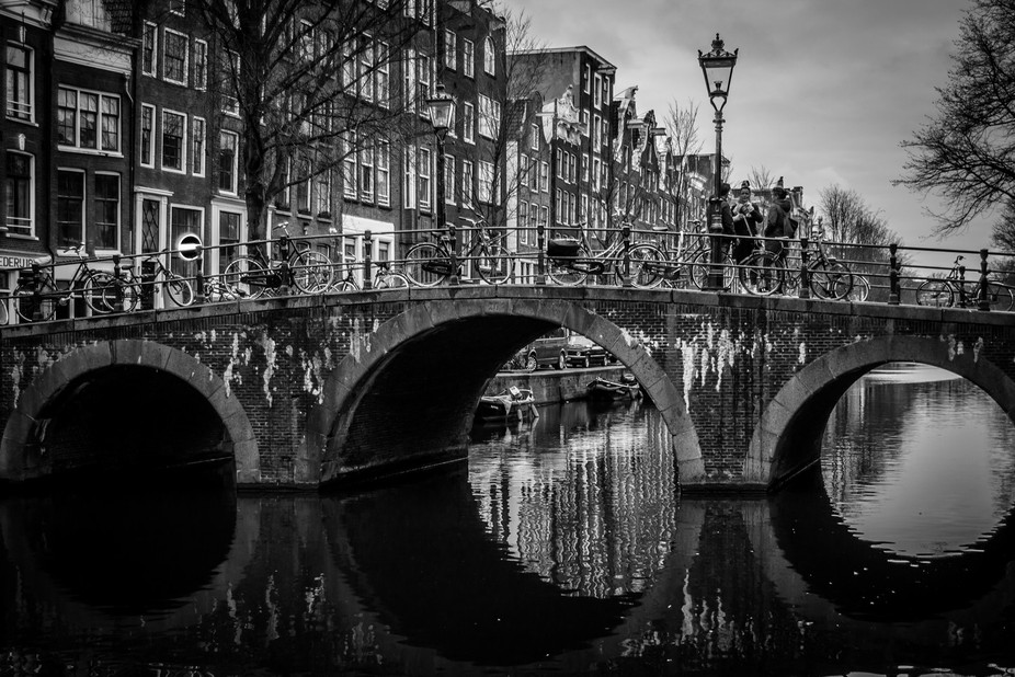 The beauty of Amsterdam's channels