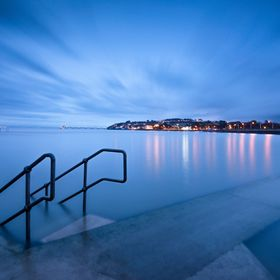 I think this is one my favourite shots I have taken at the new Marine Lake, I love the way the 69 second long exposure of the incoming tide has j...