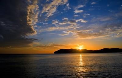 Costa De La Calma Sunset, Mallorca