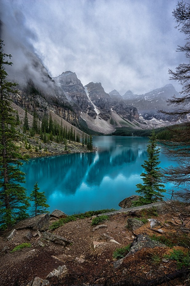 Moraine Lake, Canada by jawjr1957 - Spectacular Lakes Photo Contest