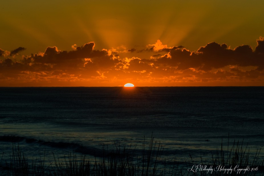 Early morning sunrise at Okitu Beach, Gisborne New Zealand. This is an HDR image 3 frames done wi...