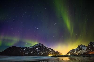 Aurora Above Skagsanden