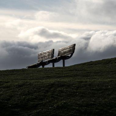 Storm Threatens Empty Bench