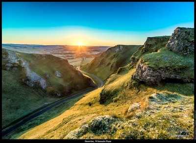 Sunrise, Winnats Pass