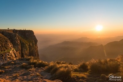 Sunrise on top of the world