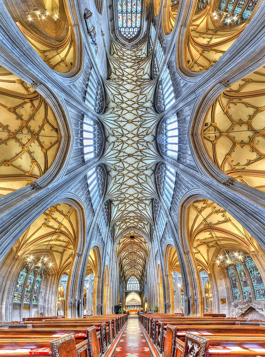 St Mary Redcliffe church by Kestas - High Ceilings Photo Contest