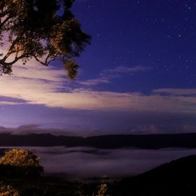 I went out one night to capture the mist, but looking down off the mountain I saw Numinbah Valley blanketed in low lying fog. This image I found ...