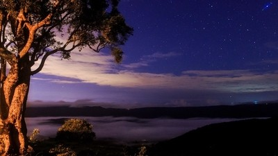 Fog over Numinbah Valley