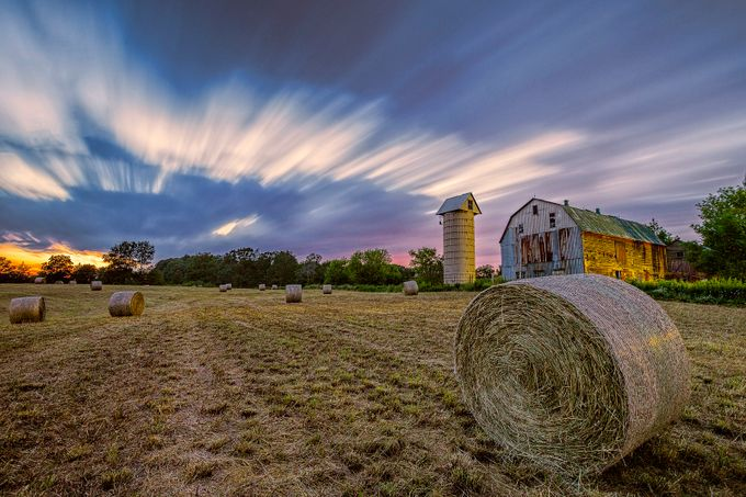 Summer Farm by Fahad08 - Farms And Barns Photo Contest