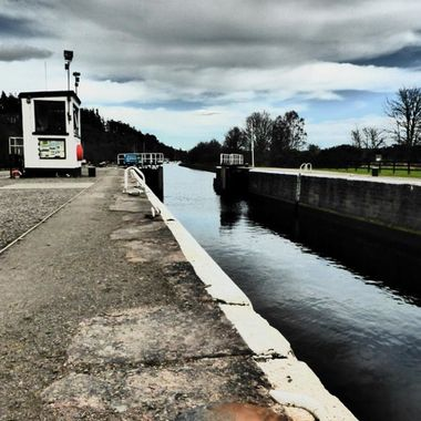 Caledonian Canal looking East
