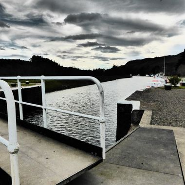 Caledonian Canal looking West