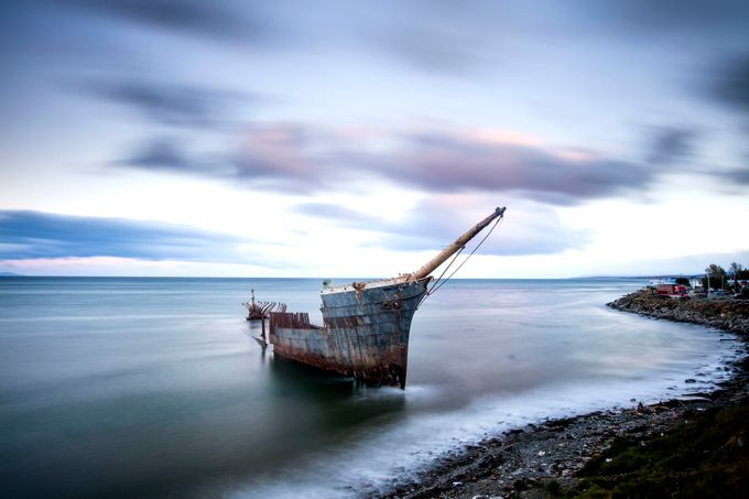 rotted ship by martinbennie - Ships And Boats Photo Contest