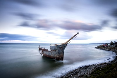 rotted ship