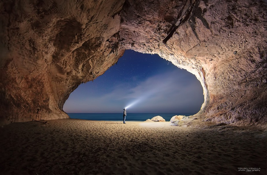Cala Luna beach Cave, Sardinia (Italy). Exploring Paradise.