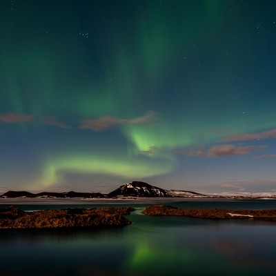 Lights Over Lake Myvatn