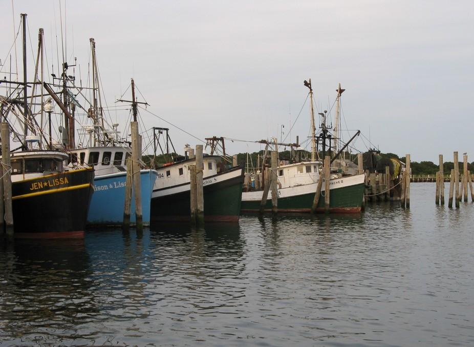 Montauk,NY Fishing fleet