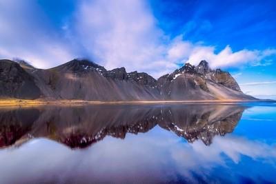 vestrahorn reflections