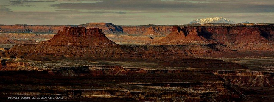 Panorama From the Island in the Sky, Canyonlands NP, Utah