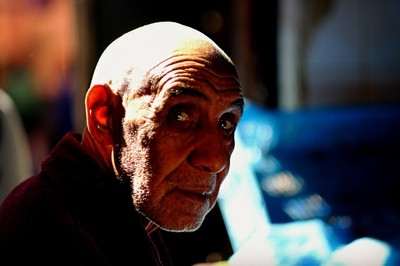 Old Man in Marrakech