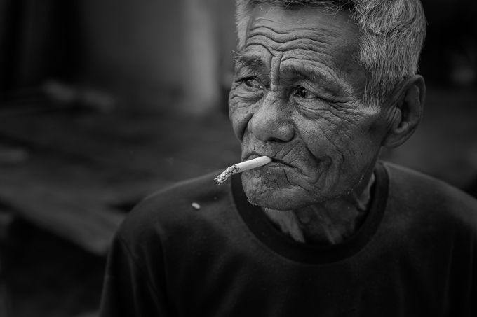 Oldtimes cigarette by sebastiao_chaves - The Face Of A Man Photo Contest