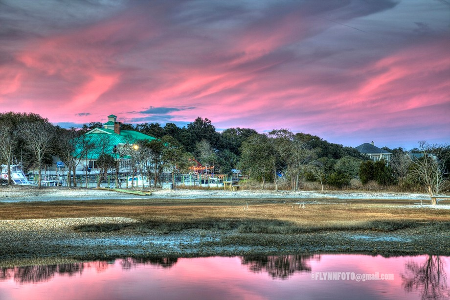 This was taken from the Marshwalk in Murrells Inlet