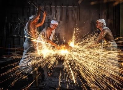 The Traditional Keris Maker