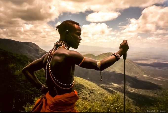 Maasai warrior  by wild-west - Cultures of the World Photo Contest