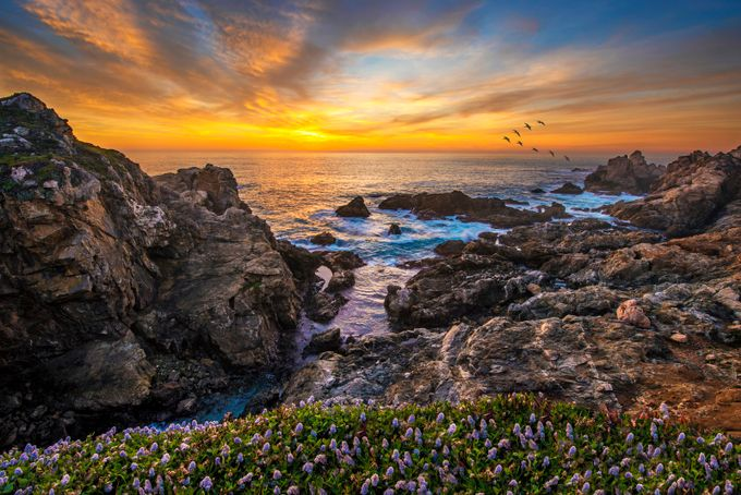 Garapata Sunset by fidfoto - Your Point Of View Photo Contest