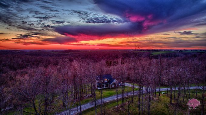 Raspberry Sunset by jeremylewis - Freshmen 2016 Photo Contest Vol 2