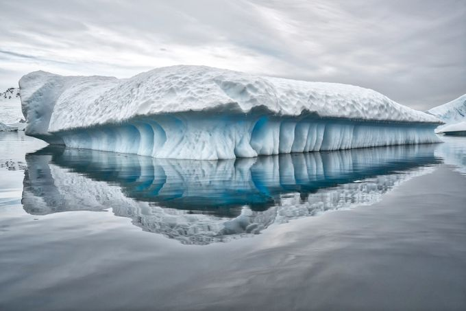 Iceberg, Plenneau Bay by SarahCaldwell - A World Of Blue Photo Contest