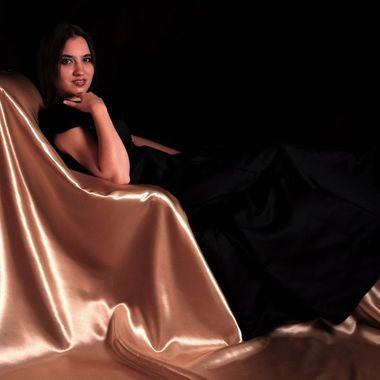 "CD cover for Classical Pianist Elena Lebedeva.  ""Eloquent Romance"""